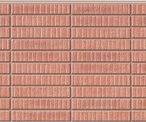 Бесшовная фасадная панель под красный клинкер NICHIHA FUGE EFF263P