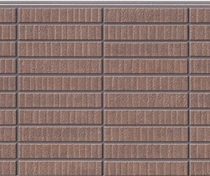 Бесшовная фасадная панель под коричневый клинкер NICHIHA FUGE EFF264P