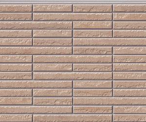 Бесшовная фасадная панель под каменную плитку NICHIHA FUGE EFF272P