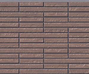 Бесшовная фасадная панель под каменную плитку NICHIHA FUGE EFF273P