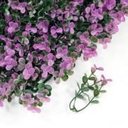 Элемент модульной зеленой изгороди Самшит Faulkner фиолетовый