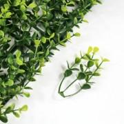 Элемент модульной зеленой изгороди Самшит Faulkner желтый