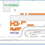 Расположение шоу-рума компании ФАСАД в Москве