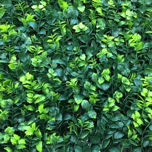 Искусственная зелень Барбарис зеленый в модулях для изгороди