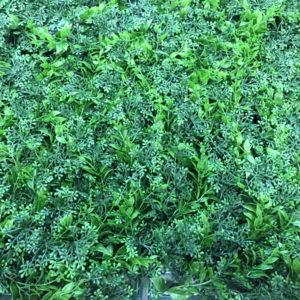 Искусственная зелень Микс 33 в модулях для изгороди