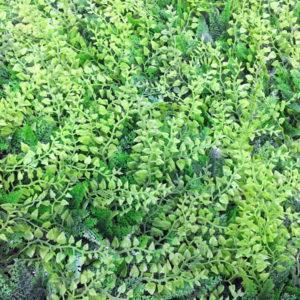 Искусственная зелень Микс 38 зеленый в модулях для изгороди