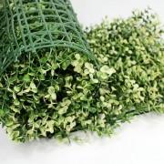 Искусственная трава в рулонах из модулей Самшит Фолкнер белый