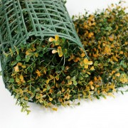 Искусственная трава в рулонах из модулей Самшит Фолкнер оранжевый