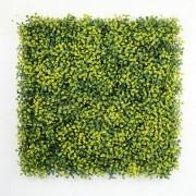 Искусственная зелень для изгороди Самшит желто-зеленый