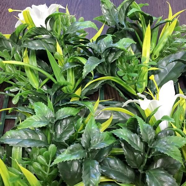 Искусственные растения Лилии белые для декора
