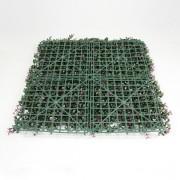 Модули искусственной зелени Самшит Фолкнер фиолетовый