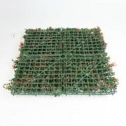 Модули искусственной зелени Самшит Фолкнер красный