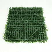 Модули искусственной зелени Самшит темно-зеленый
