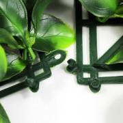 Папа-мама соединение модулей искусственной травы Лавр Нобилис зеленый