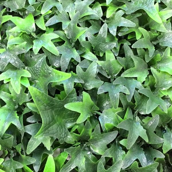 Искусственная трава плющ зеленый для изгороди и фасада