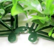 Папа-мама замок модулей искусственной травы Плющ зеленый