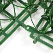 Соединение модулей зеленой изгороди Самшит Фолкнер зеленый