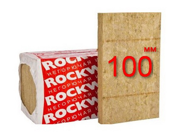Минплита Rockwool Venti Batts D 100 мм
