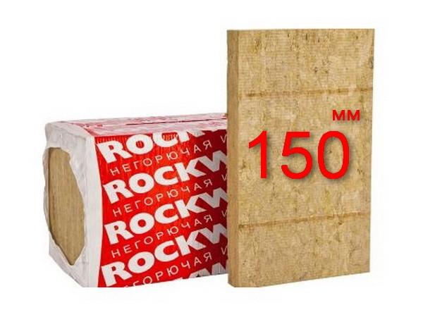 Минплита Rockwool Venti Batts D 150 мм