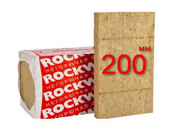 Минплита Rockwool Venti Batts D 200 мм
