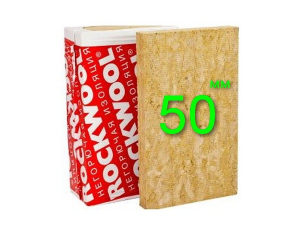 Минплита Rockwool Venti Batts Оптима 50 мм