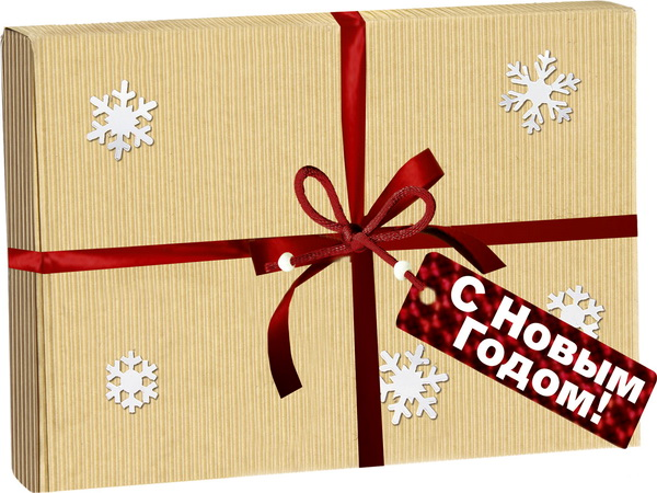 Новогодние подарки от компании ФАСАД